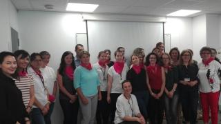 Auvergne: Salle comble pour le lancement de la 22ème délégation d'Elles bougent!