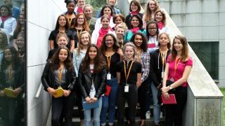 Rencontre entre collégiennes et marraines ingénieures chez Gemalto