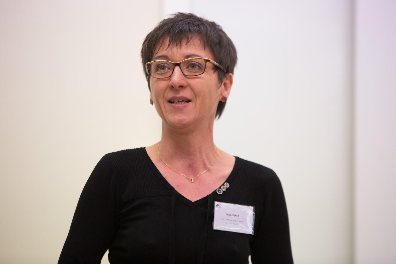 Portrait de Cécile, marraine Schneider Electric passionnée par le domaine technique