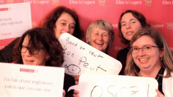 Françoise Garlet avant les SI au Féminin 2018: