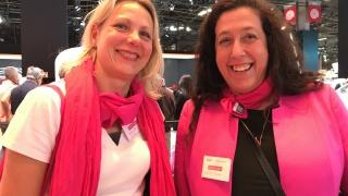 Portraits croisés d'Emmanuelle et Karine, marraines Renault au Mondial de l'Auto