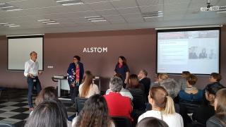 Elles bougent et Alstom : les affaires vont bon train !