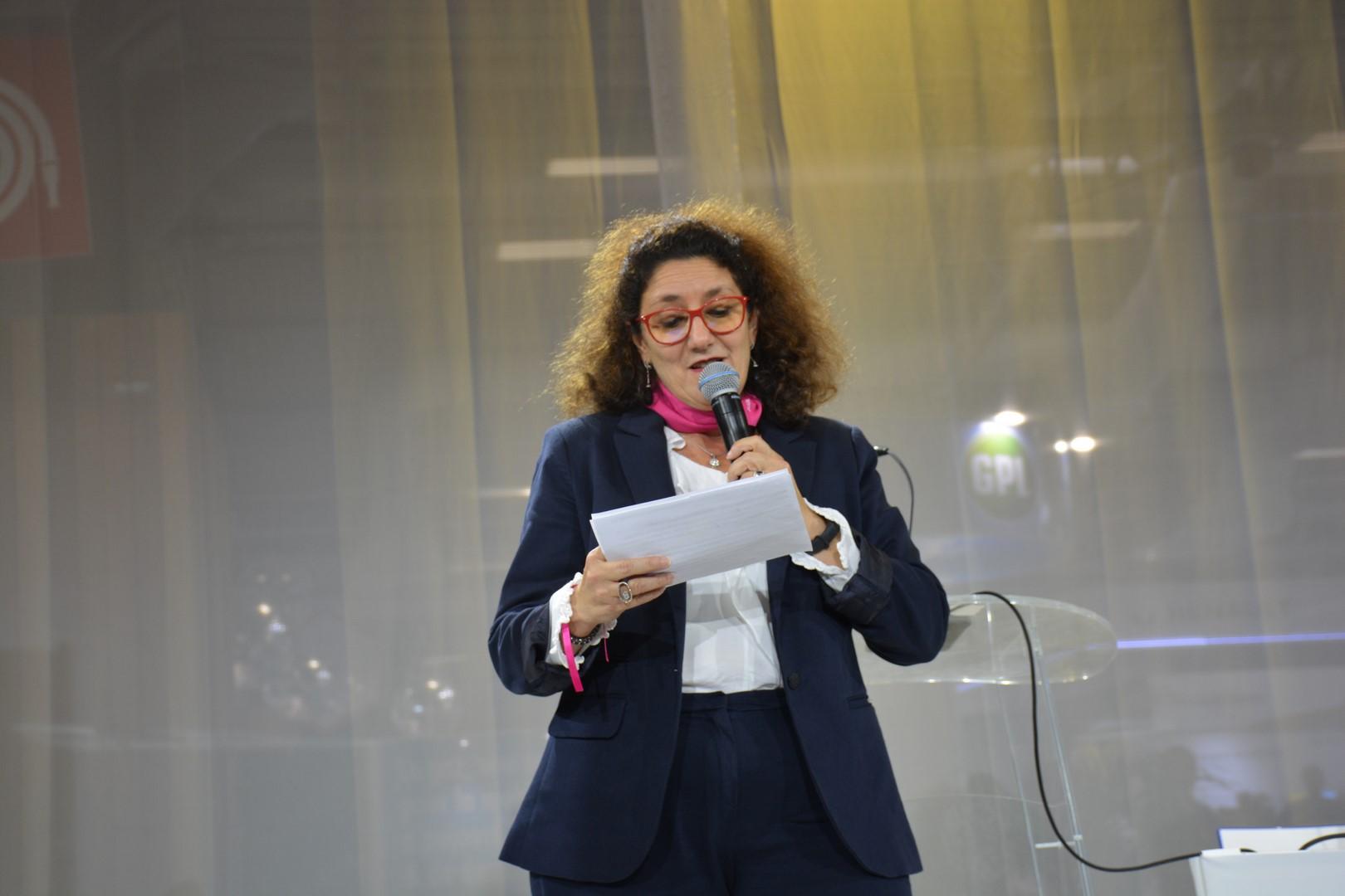 Isabelle Valentin Bianco au Mondial de l'Auto avec Elles Bougent: « L'industrie veut doubler le nombre de femmes, profitez-en! »