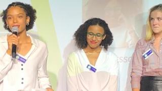 Anaïs, première lauréate du Prix Women Energy in Transition