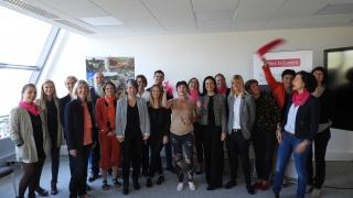 Elles Bougent Lorraine : rentrée 2018-2019 chez son nouvel adhérent Vinci Construction