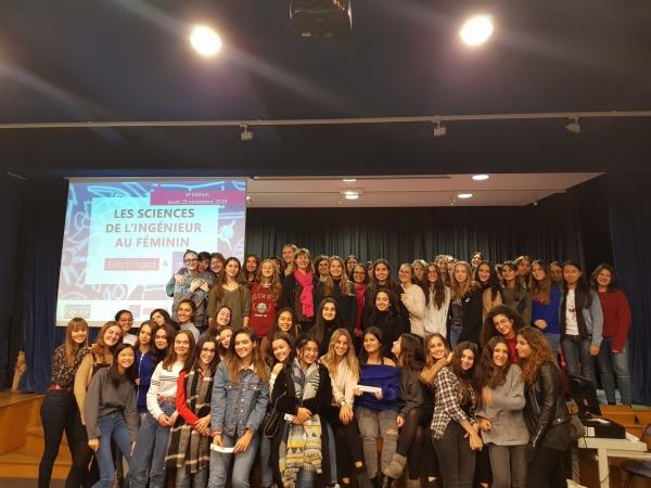 Les Sciences de l'Ingénieur au Féminin 2018 au Lycée Pasteur de Neuilly, avec Elles Bougent et l'UPSTI