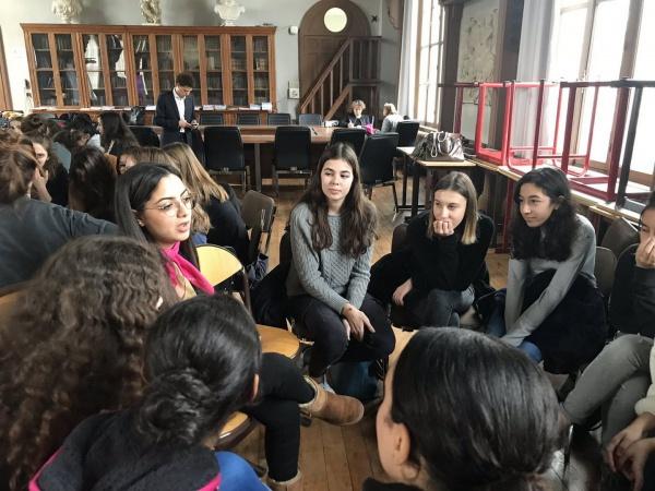 6e édition des Sciences de l'Ingénieur au Féminin avec Elles Bougent et l'UPSTI, sous le haut patronage de l'Education nationale