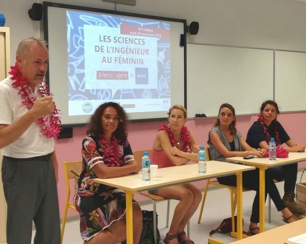 Les Sciences de l'Ingénieur au Féminin 2018 en Polynésie Française, avec Elles Bougent et l'UPSTI