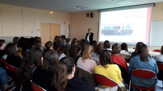 Intervention au Lycée Perochon à Parthenay - Mardi 27 Novembre