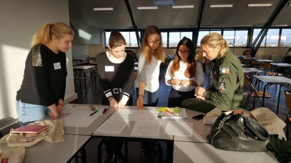 Challenge InnovaTech Centre 2018 avec les membres de l'équipe Coup de Coeur du Public