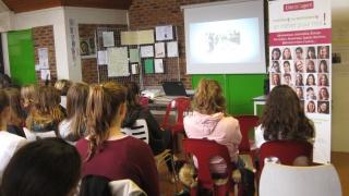 SI au Féminin au Collège de MontMort Lucy