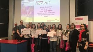 Challenge InnovaTech 2019 : Bravo à l'équipe e-BinZip, lauréate en Bretagne