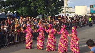 Défilé Grande Parade du Littoral de Kourou, Carnaval de Guyane 2019.