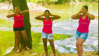Elles bougent Guyane au Challenge Nature des Amazones
