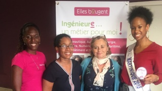 Olivia, Miss Martinique et finaliste InnovaTech 2019 :
