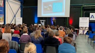 Journée du 8 Mars sur le site d'Alstom - Conférence de Sandrine Meyfret