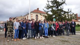 Elles bougent sous les drapeaux : Animation à la JDC de Toulouse