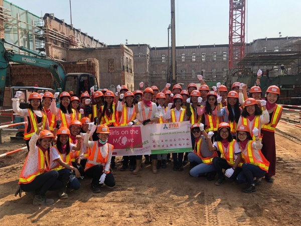Girls on the Move Week 2019 avec Bouygues Construction à Myanmar