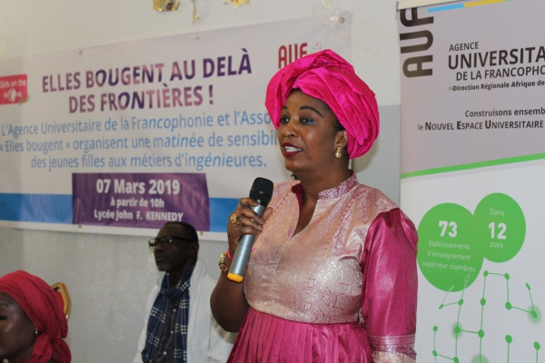 Girls on the Move Week 2019 à Dakar avec l'AUF