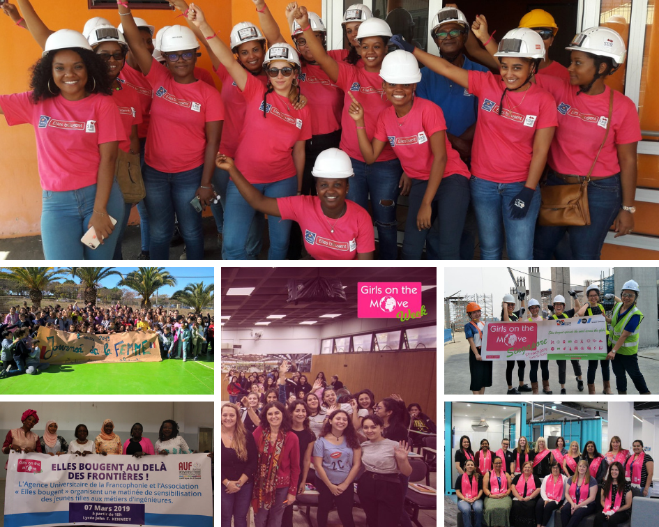 Girls on the Move Week 2019 : Retour sur la semaine d'actions Elles Bougent à l'international