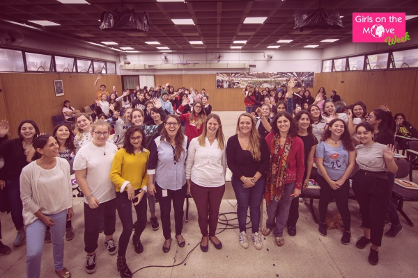Girls on the Move Week 2019 avec Veolia en Argentine