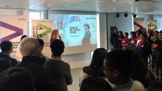 Semaine de l'Industrie 2019 : 120 collégiennes chez Accenture