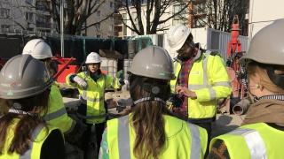 Semaine de l'Industrie 2019: Visite de la future ligne 15 du métro parisien par Soletanche Bachy (VINCI)