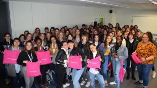 Plus de 70 jeunes filles mobilisées aux métiers du numérique en PACA