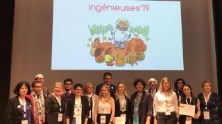 Ingénieuses 2019 : Bravo aux 3 écoles d'ingénieur.e.s et 3 lauréates récompensées