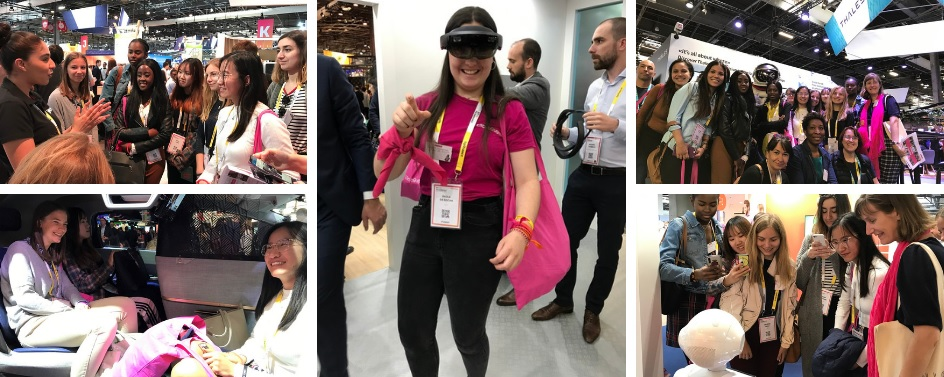 Visite exclusive du salon Viva Technology 2019 et témoignages des marraines de la tech
