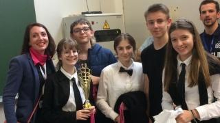 Course en cours : l'équipe « L'école Poulard » lauréate du Prix de la Mixité en Champagne-Ardenne