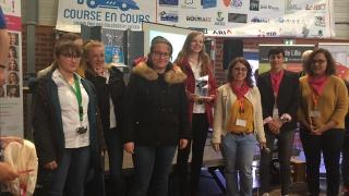 Course en Cours 2019 : L'équipe TEAM COOKIES, lauréate du Prix Elles Bougent Nord-Pas-de-Calais