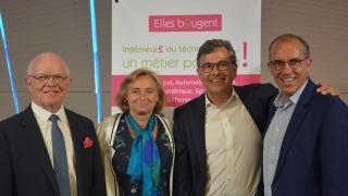 Cérémonie de Passation de Présidence d'honneur Elles Bougent 2019-2020