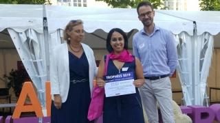 Trophées Elles bougent - Synergie Campus Entreprises, région Nord-Ouest : Prix Coup de cœur pour une marraine Naval Group de Nantes-Indret