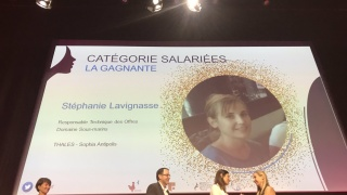 Trophées Women in Tech Sud: Bravo à Stéphanie Lavignasse de la délégation Elles Bougent PACA