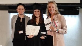 Remise des diplômes à l'IUT de Troyes- Félicitations à Pauline Busin!
