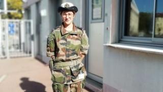 Premier Maître Céline (relais Elles bougent au sein de la Marine nationale) : « La Marine nationale offre des carrières passionnantes et les femmes y sont très attendues ! »