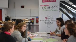Challenge InnovaTech 2020 Centre-Val de Loire : Bravo à l'équipe Luciole !