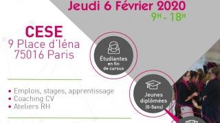 Forum Réseaux & Carrières au féminin le jeudi 6 février 2020 au CESE, Paris 16è