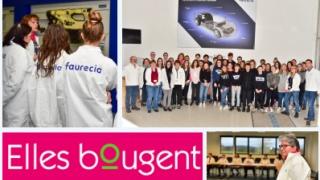Visite de l'entreprise Faurecia par des collégiens de Raucourt