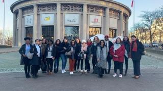 La DR Lorraine présente au Forum Réseaux et Carrières au féminin avec plus de 20 étudiantes de POLYTECH Nancy,  l'ENSEM Nancy et l'ESITC de Metz