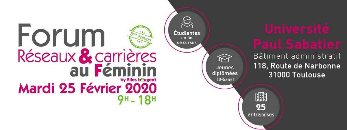 Forum Réseaux et Carrières au Féminin en Occitanie