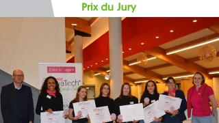 Challenge InnovaTech© 2020 Nord-Pas-de-Calais : Bravo à l'équipe