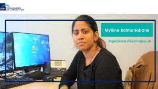 Mylène Batmanabane (marraine Elles bougent au sein de CNP TI) : « J'ai été recrutée suite à ma visite au ForumEB ! »