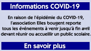 Informations COVID-19 – Reports d'événements mars-avril