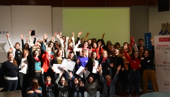 Challenge InnovaTech©  Pays de la Loire : Bravo à l'équipe