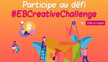 Participez au #EBCreativeChallenge sur les réseaux sociaux !