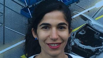 Nadia Dayi (marraine Atlas Copco) :