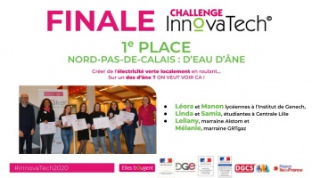 Finale du Challenge InnovaTech© 100% digitale: venez découvrir les équipes lauréates !