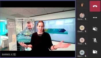 Rencontre virtuelle et découverte passionnante au cœur d'un showroom Siemens !